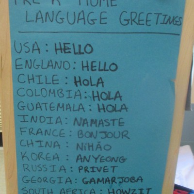 Home Languages